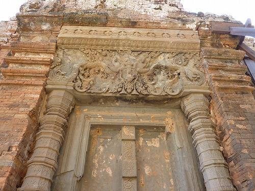 カンボジア・ロリュオス遺跡群のロレイ