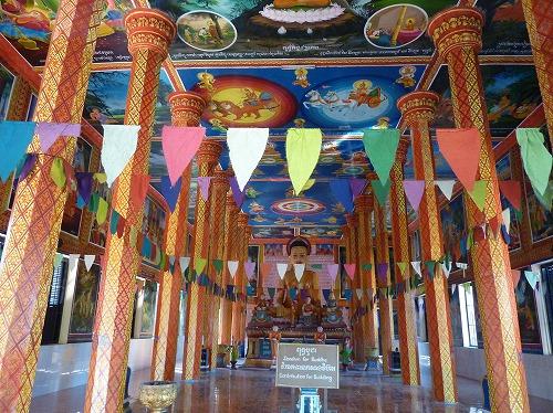 カンボジア・ロリュオス遺跡群のロレイにあるワット・トレイ