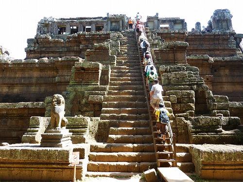 カンボジア・アンコールトムの王宮