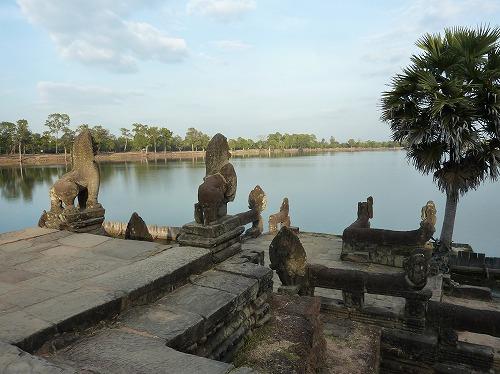 カンボジア・アンコール遺跡群のスラ・スラン