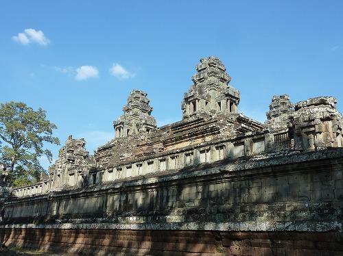 カンボジア・アンコールワットの中央祠堂