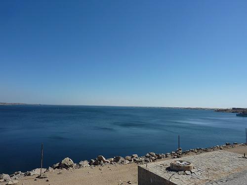 エジプト・アスワンにあるアスワン・ハイ・ダム