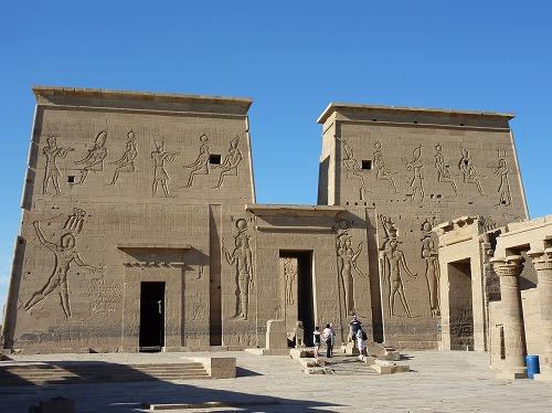 エジプト・アスワンにあるイシス神殿