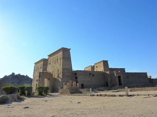 エジプト・アスワンのイシス神殿(フィラエ神殿)