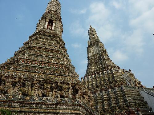 タイのバンコクにあるワット・アルン