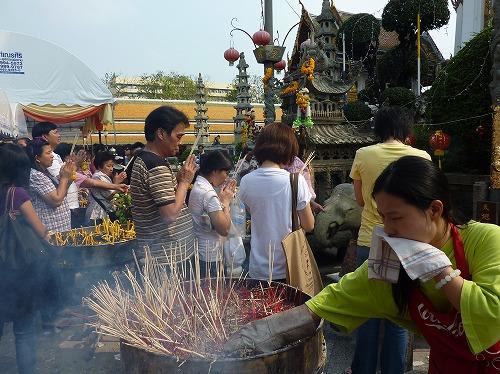 タイのバンコクにあるワット・スタット