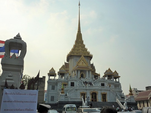 タイのバンコクにあるワット・トライミット