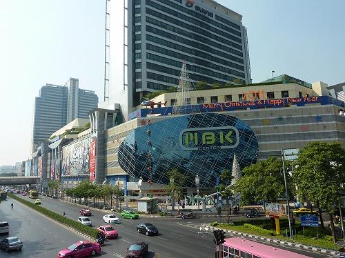 タイ・バンコクのサイアムスクウェア周辺