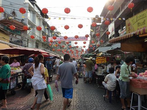 タイ・バンコクにある中華街