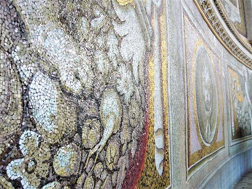 バチカン市国のサン・ピエトロ大聖堂のモザイク画