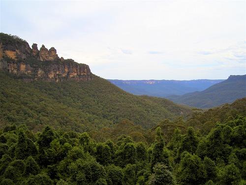 オーストラリア・ブルーマウンテンズ国立公園