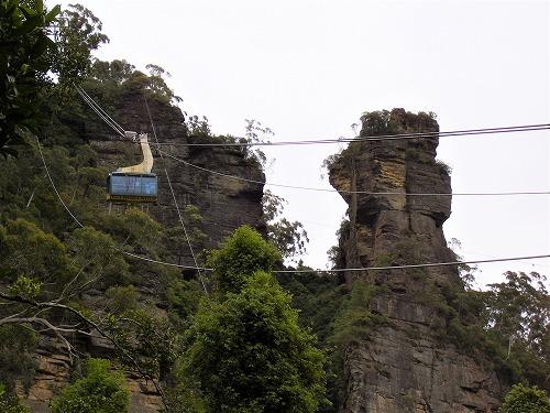 オーストラリア・ブルーマウンテンズ国立公園のロープウェイ