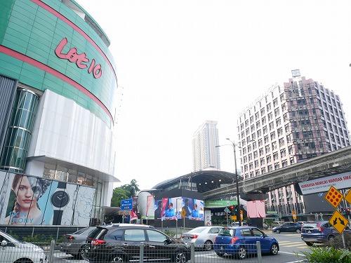 クアラルンプール(マレーシア)のブキッビンタンにあるショッピングセンター・Lot10