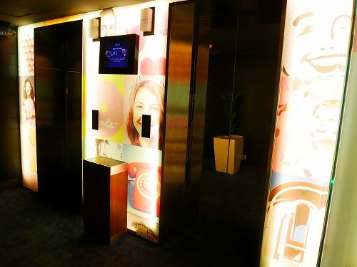 マレーシア・クアラルンプールのWoloホテルのエレベーターホール