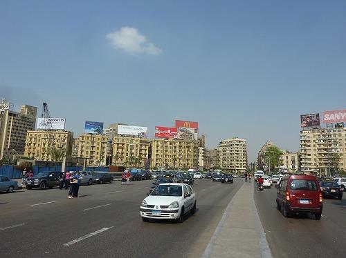 エジプト・カイロの大通り