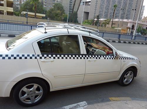 エジプト・カイロのタクシー