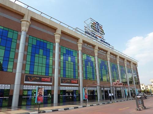 エジプト・カイロのトルゴマーンバスターミナル外観