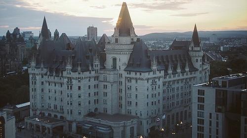 カナダのシャトーホテル