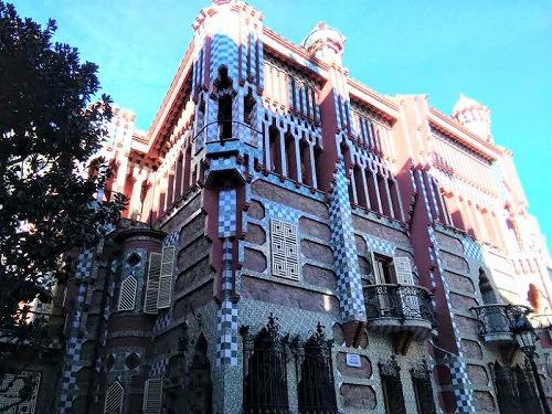 スペイン・バルセロナにあるカサ・ビセンス