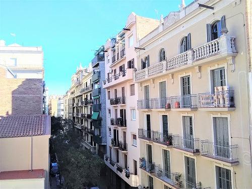 スペイン・バルセロナにあるカサ・ビセンスの屋上からの眺め
