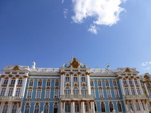 ロシア・サンクトペテルブルクのエカテリーナ宮殿
