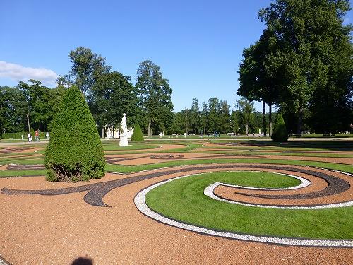 ロシア・サンクトペテルブルクのエカテリーナ公園