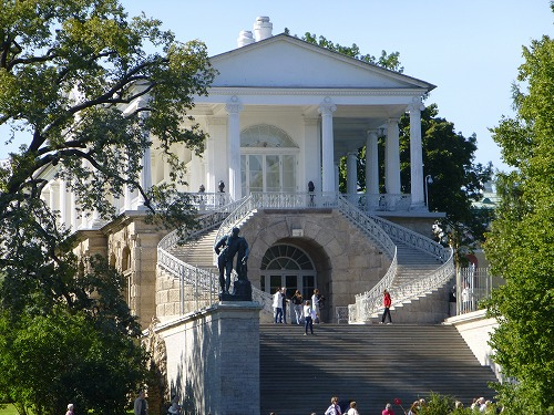 ロシア・サンクトペテルブルクのエカテリーナ公園にある建物