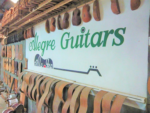 セブ島のアレグレギターの入口