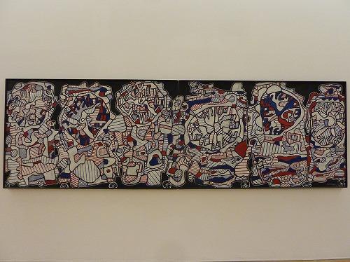 フランスのパリにあるポンピドゥー・センターの展示物