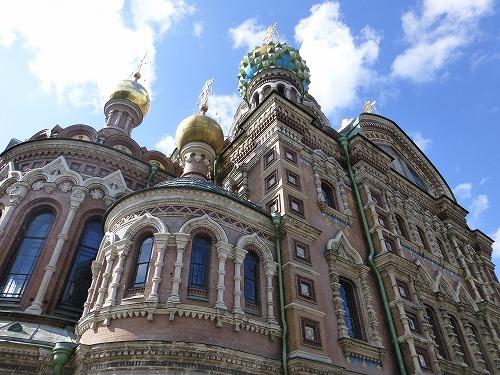 ロシア・サンクトペテルブルクの血の上の救世主教会
