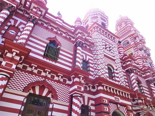 スリランカ・コロンボのジャミ・ウル・アルファ―・モスク