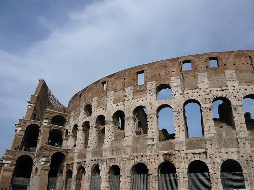 イタリア・ローマのコロッセオ