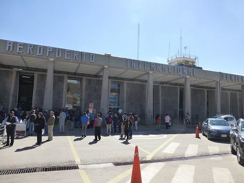 ペルー・クスコのアレハンドロ・べラスコ・アステテ空港