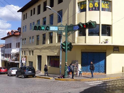 ペルー・クスコの街角