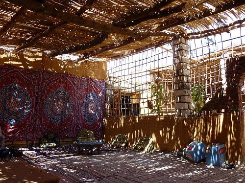 エジプト西方砂漠で立ち寄ったレストラン