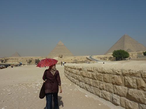 エジプト・ギザの三大ピラミッド