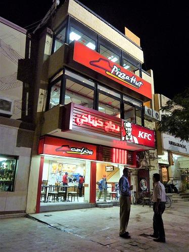 エジプト・ギザのスフィンクスの視線の先にある店