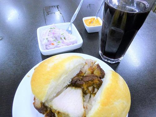 ペルーのエル地ニートで食べた食事