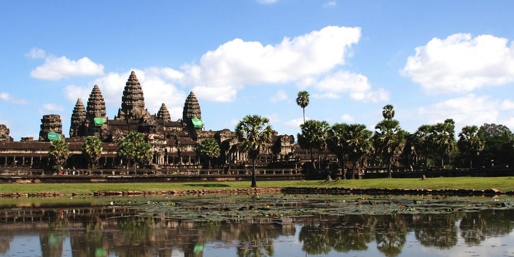 カンボジア・アンコール遺跡群のアンコールワット