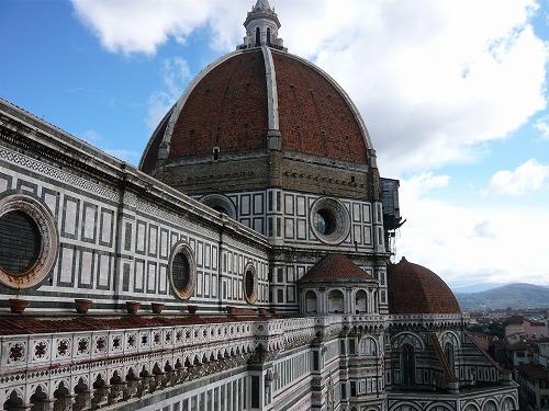 イタリア・フィレンツェのドゥオモのクーポラ