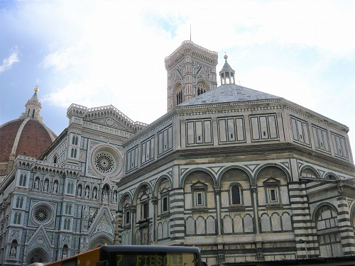 イタリア・フィレンツェのサン・ジョヴァンニ洗礼堂