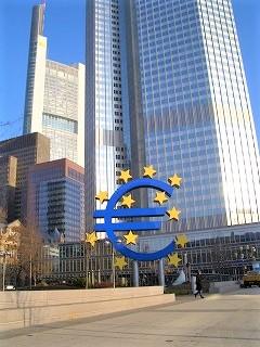 フランクフルトにあるユーロサイン