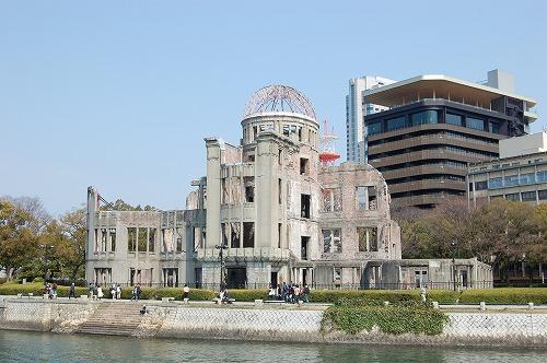 広島の原爆ドーム(広島平和記念碑)