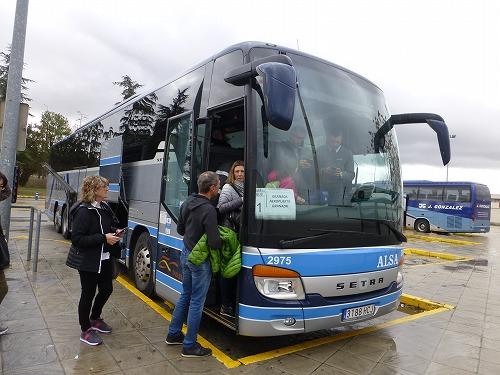 スペイン・グラナダ空港と市内を結ぶエアポートバス