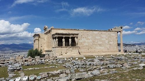 ギリシャ・アテネのエレクティオン神殿