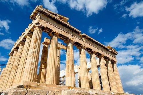 ギリシャ・アテネのパルテノン神殿