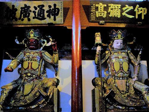 上海・杭州にある霊隠寺(天王殿の金剛像)