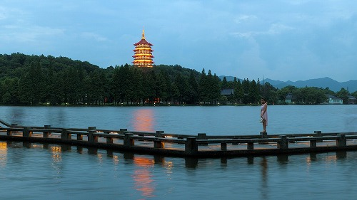 上海・杭州にある西湖