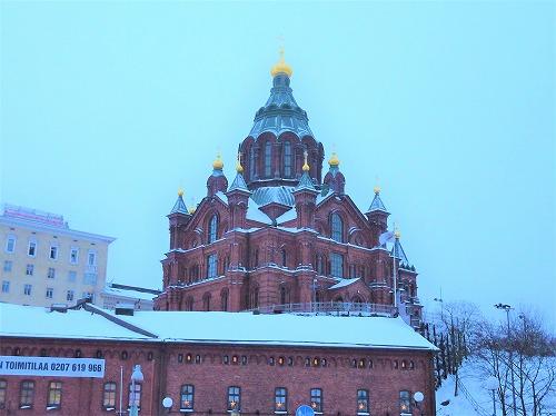 フィンランド・ヘルシンキのウスペンスキー寺院