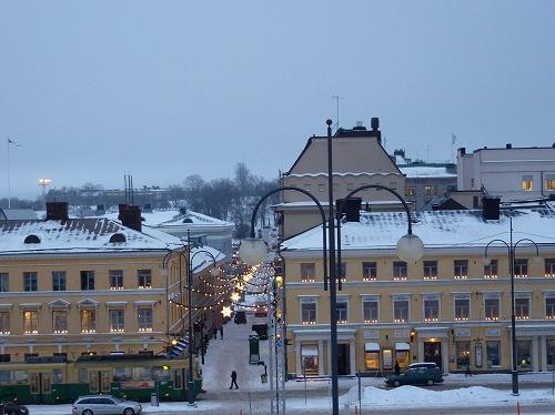 フィンランド・ヘルシンキの風景(冬)